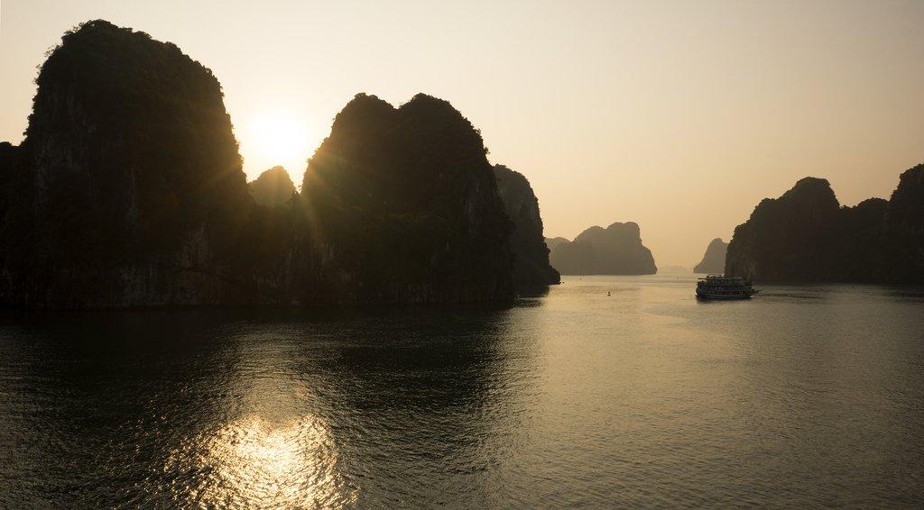 Sunrise on Bai Tu Long Bay