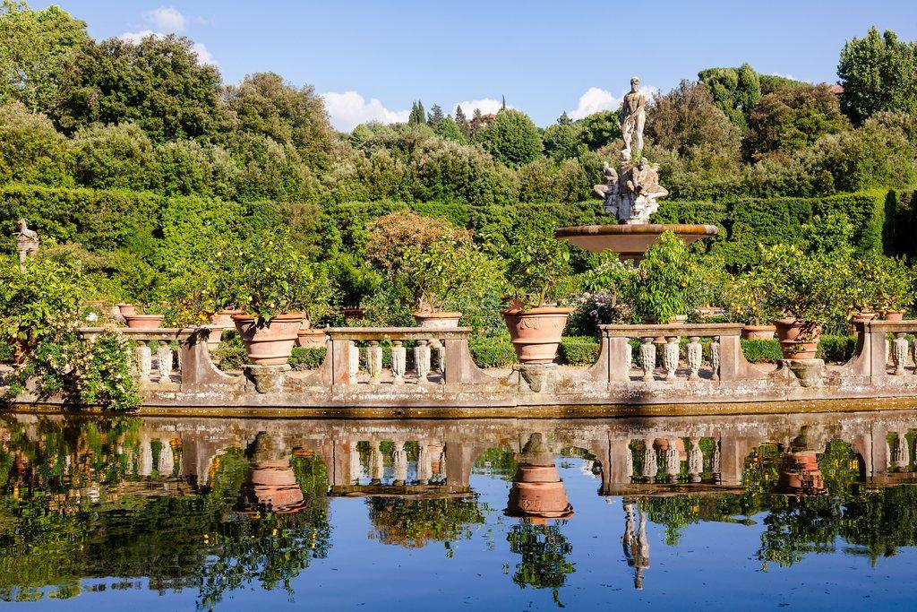 Isolotto in the Boboli Gardens