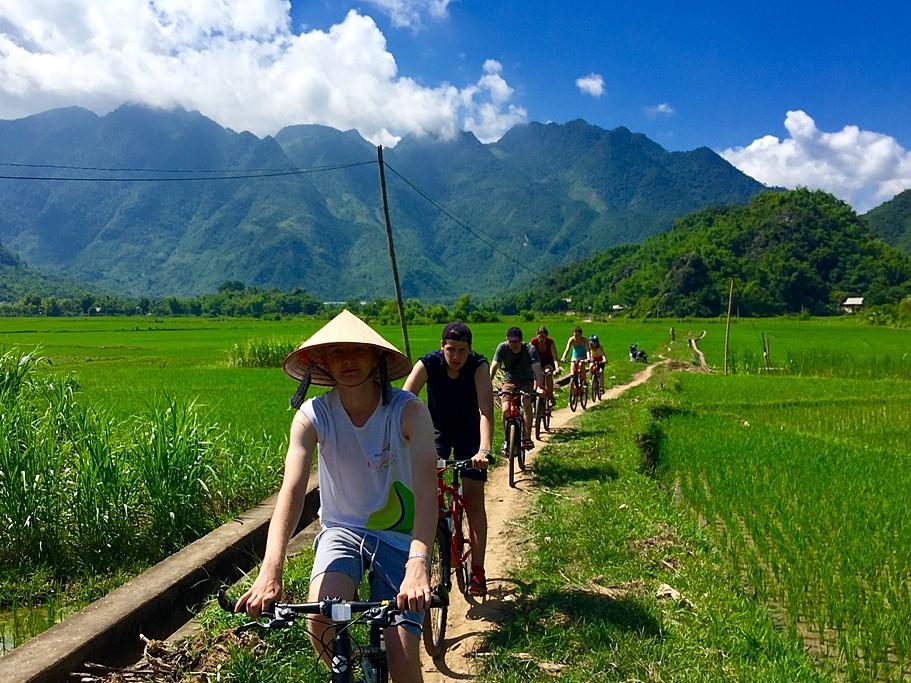 Mai Chau is a mountain town in northwest Vietnam