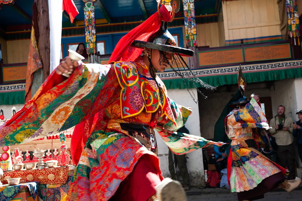 The Mani Rimdu Festival at Tengboche