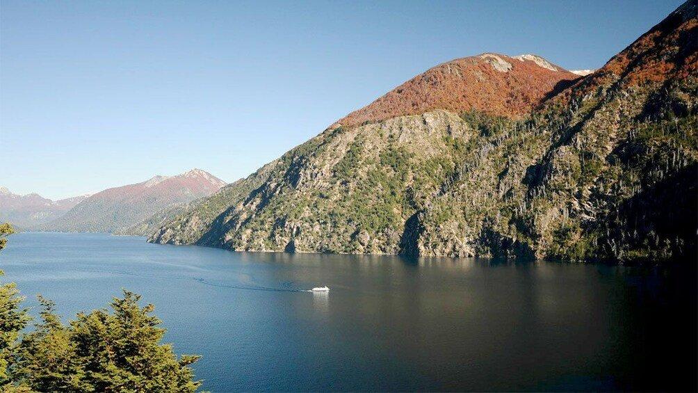 Tristeza Sound, a glacial fjord