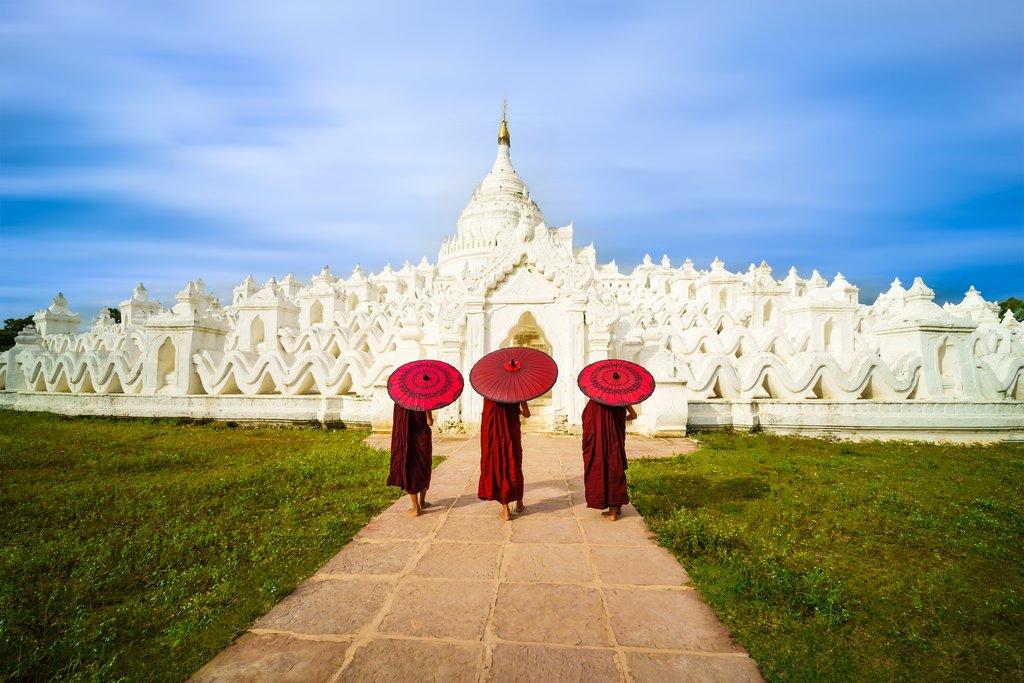 Mya Thein Tan Pagoda in Mingun