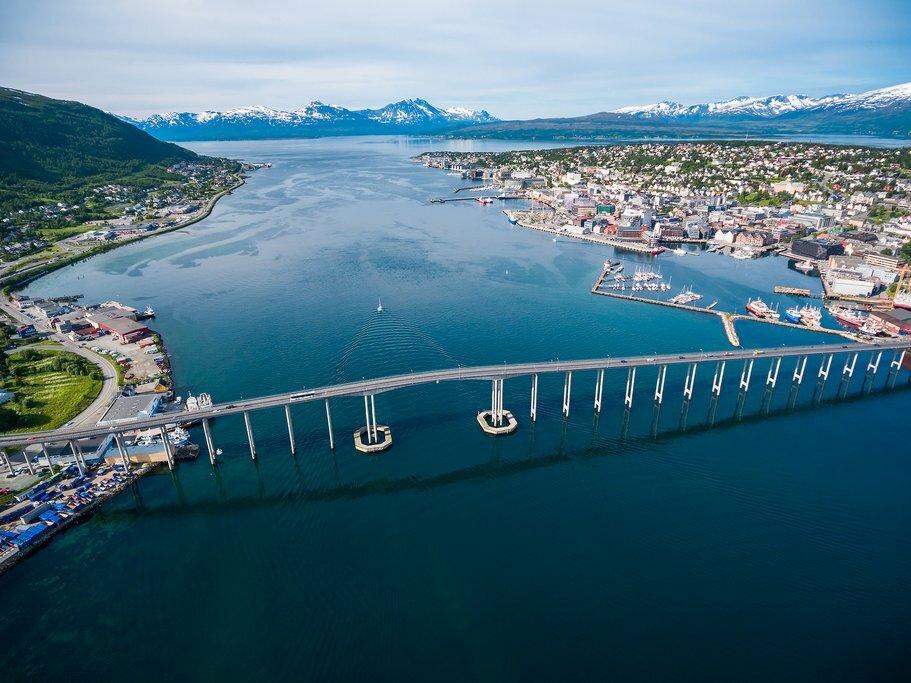 Tromsø coastline