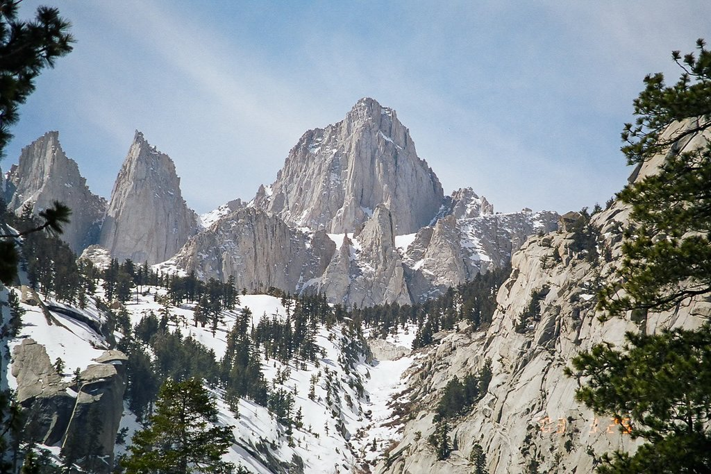 Mount Whitney (Photo courtesy of Geographer@wikipedia)