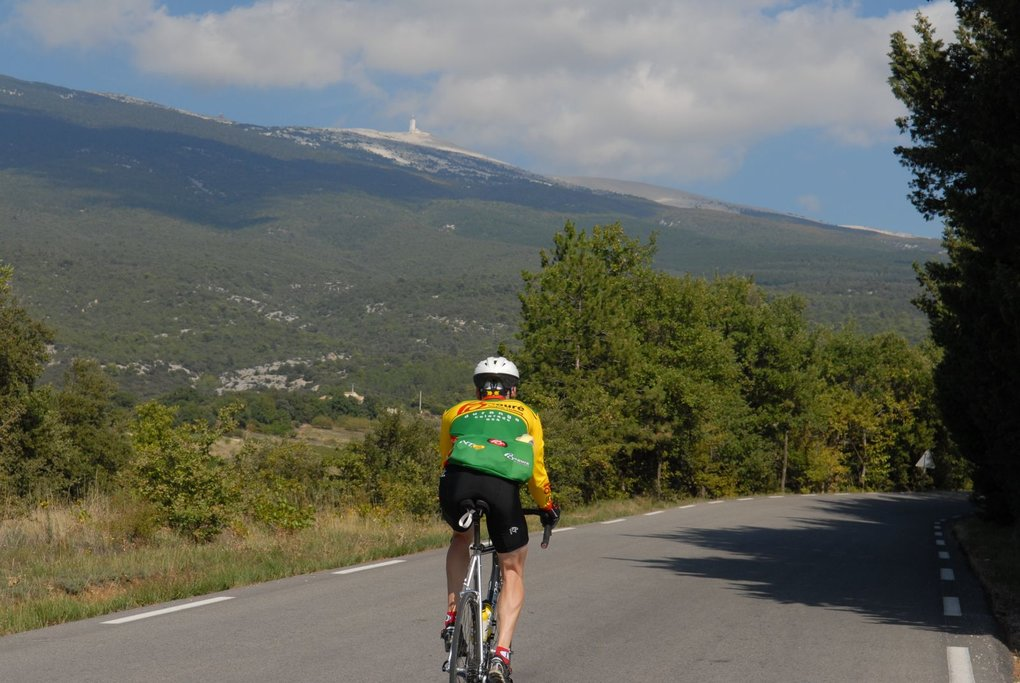 Ride up the Mont Ventoux, the Giant of Provence