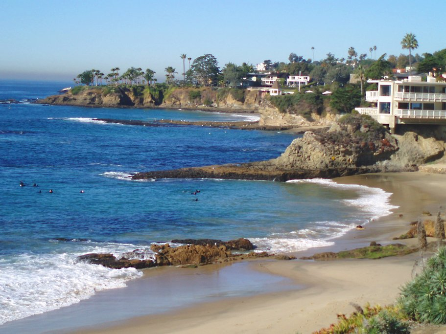 Looking North in Laguna Beach
