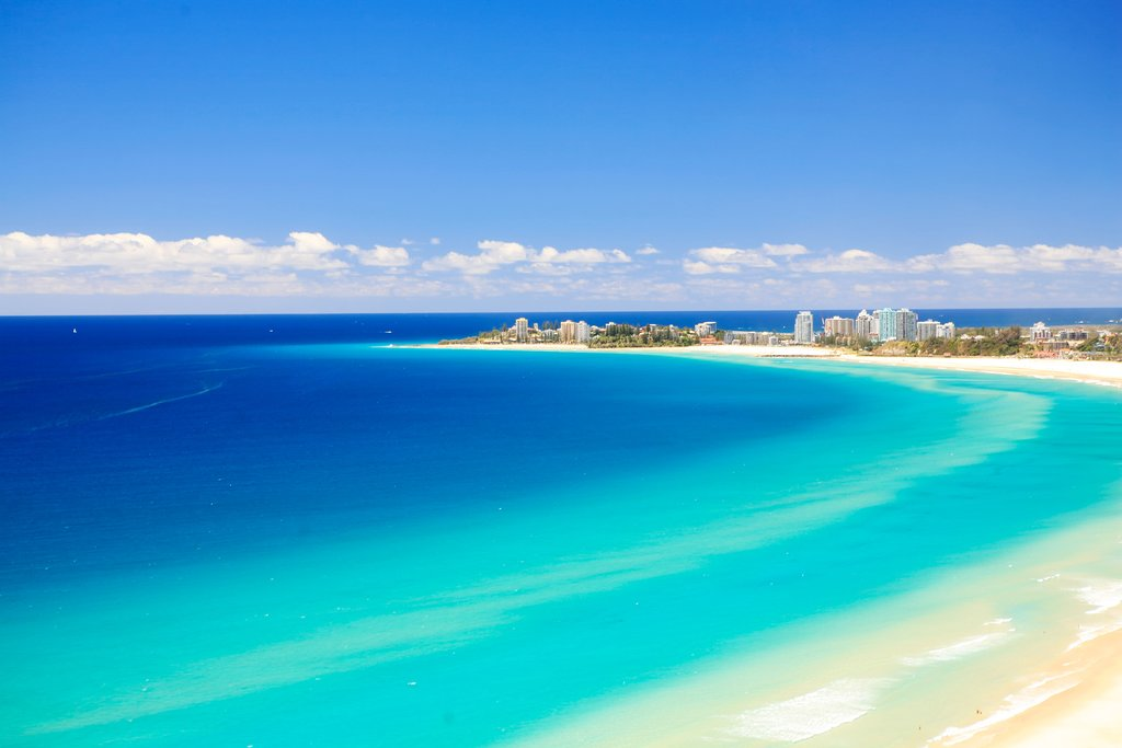 Australia - Gold Coast - Coolangatta and Kirra Beach