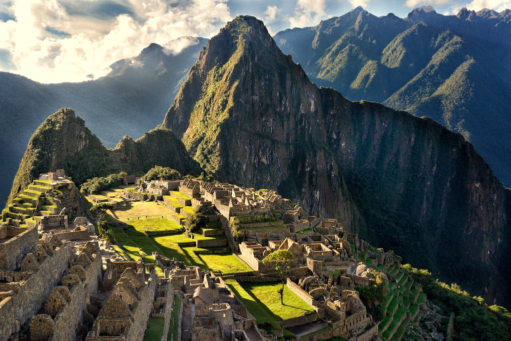 The legendary Machu Picchu ruins