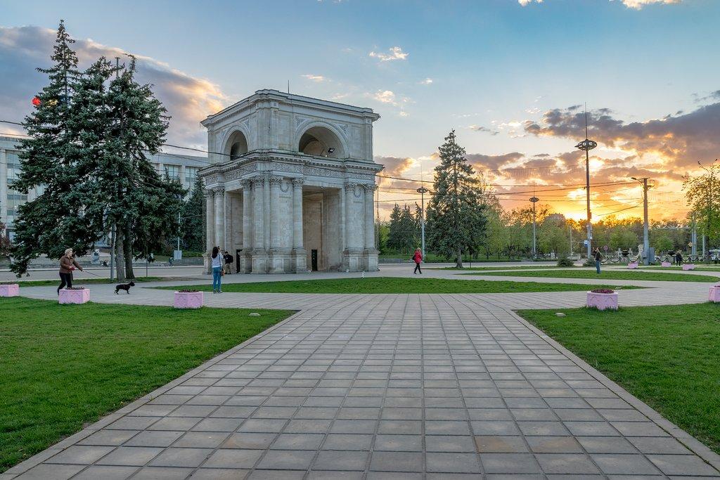 Chisinau's Triumphal Arch