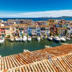 The colorful Port Grimaud