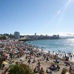 The modern coastal resort city of Viña del Mar