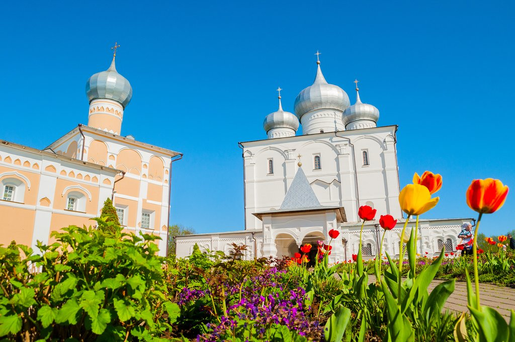Domed Churches in Veliky Novgorod