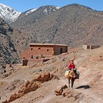 Hike from Imlil to Aït Aïssa via the Azzaden Valley