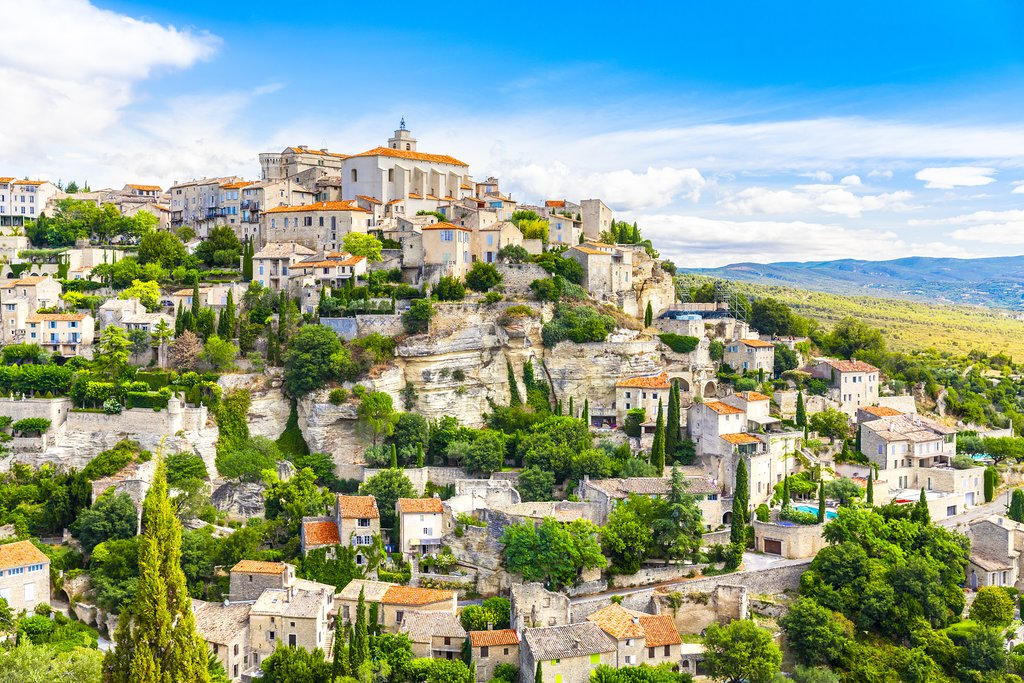 Hilltop village of Gordes