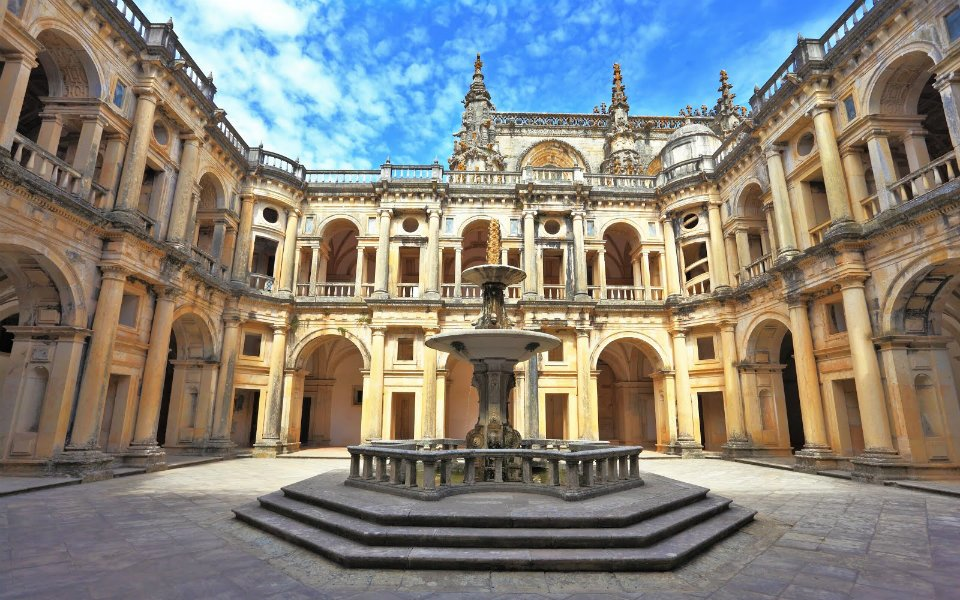 Convent of Christ Church in Tomar