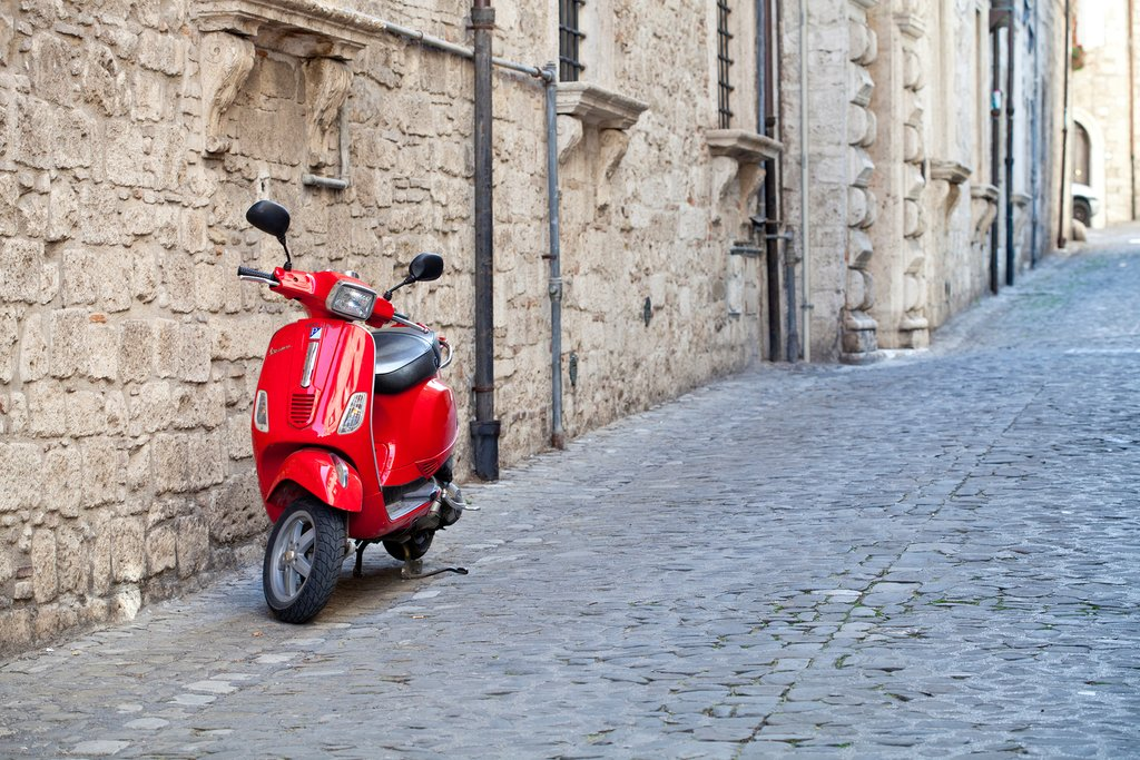 Enjoy a Vespa tour of Naples
