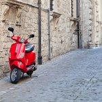 Enjoy a Vespa tour of Naples