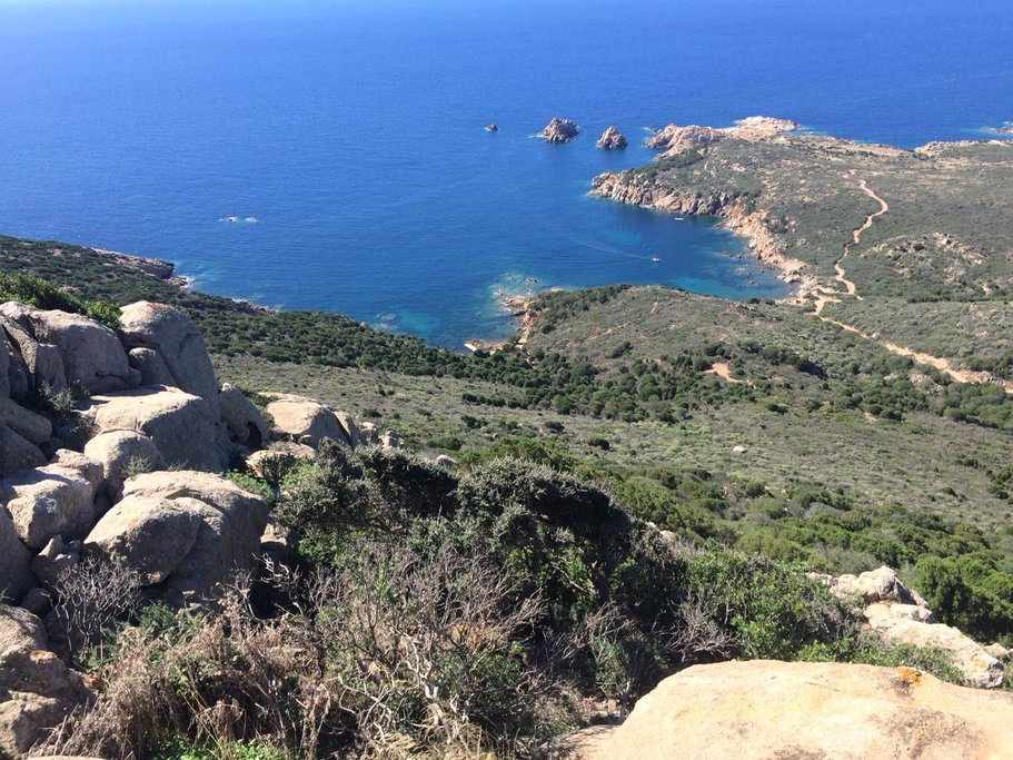 View of Sardinia's Southwest Coastline