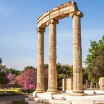 Columns of Ancient Olympia