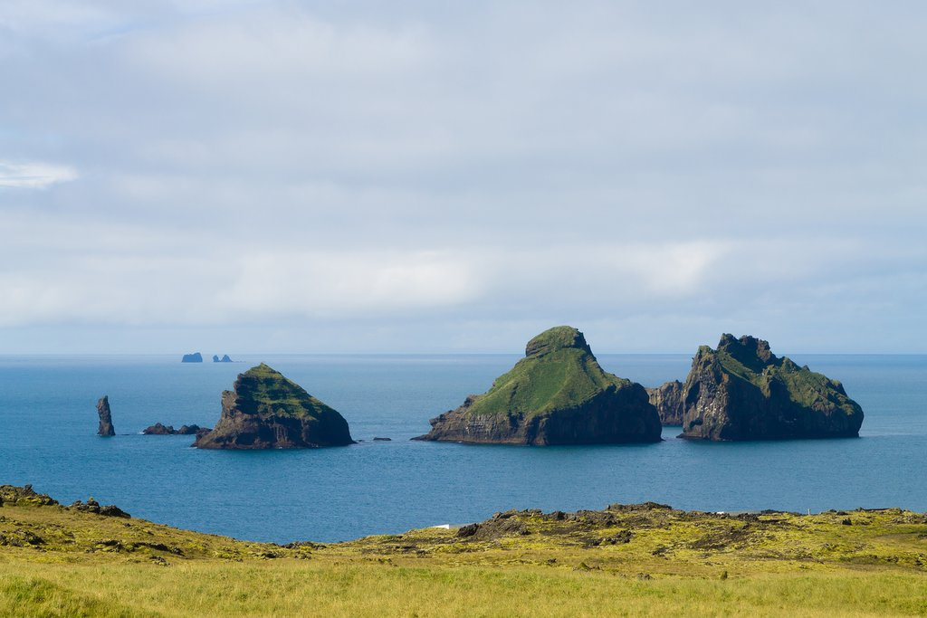 Vestmannaeyjar, Westman Islands in Iceland
