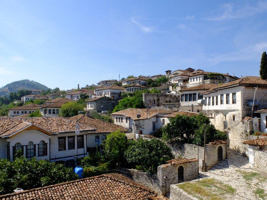 Ottoman Houses in Berat's Ancient Citadel