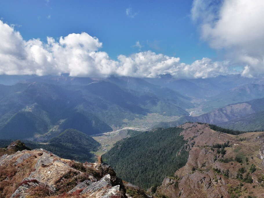 Hiking in the Bhutanese Himalayas
