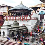 Hindus believe that being cremated at Pashupatinath will lead to a better rebirth
