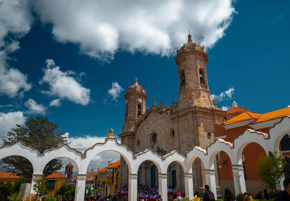 Cathedral Basilica of Our Lady of Peace in Potosí