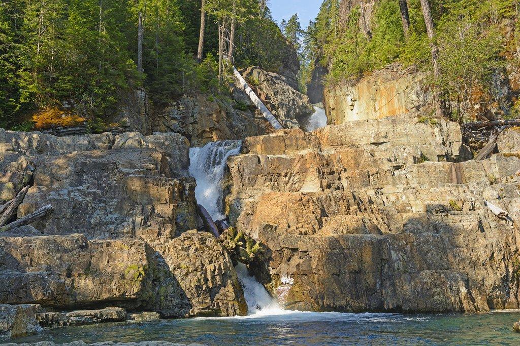 Lower Myra Falls, Strathcona Provincial Park