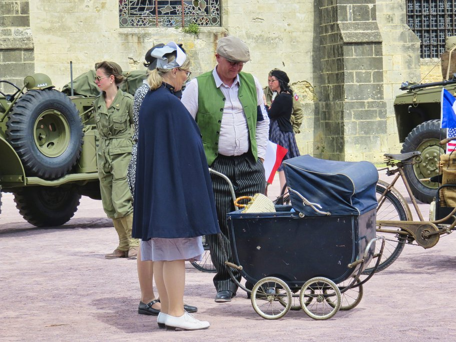 Celebration of 75 year anniversary of D-Day in Sainte Mere