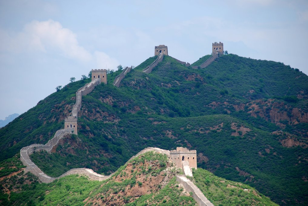 Mutianyu Great Wall has a cable car, chair lift, and toboggan
