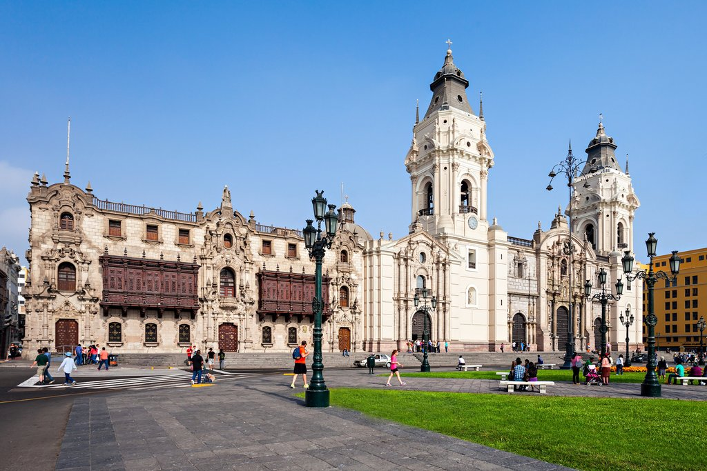 Lima's Basilica Cathedral