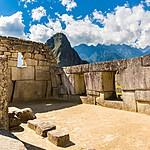 Explore the ruins at Machu Picchu