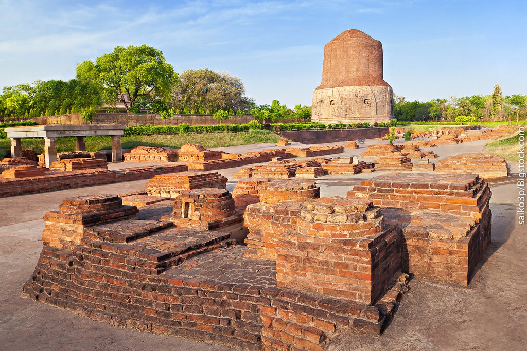 Sarnath ruins