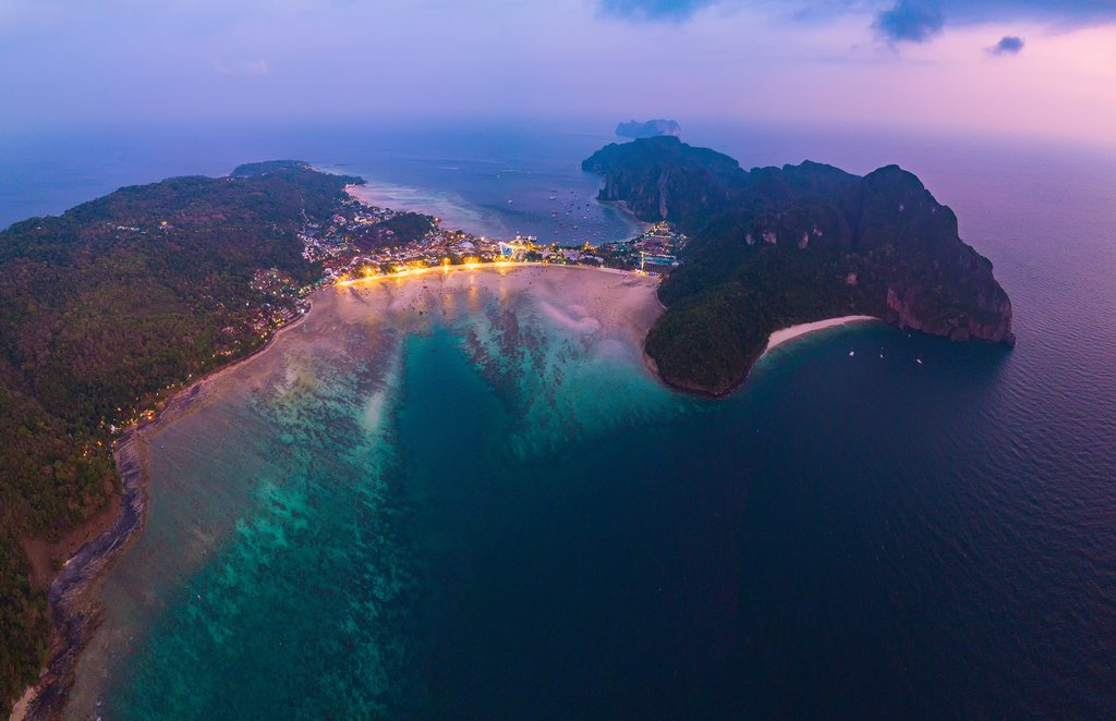 Phuket sunset view