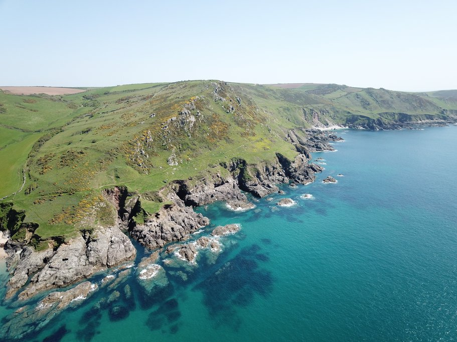 Devonshire coast