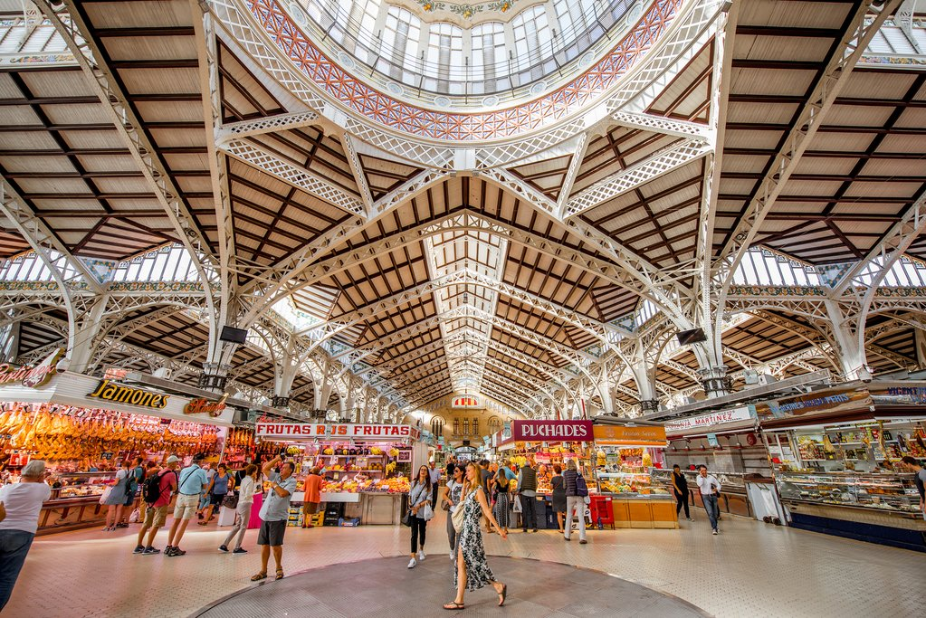 The Mercado Central, one of the Oldest Markets in Europe