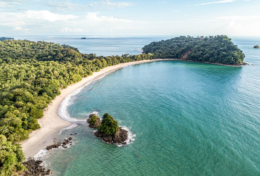 View of the coastline near Manuel Antonio, Costa Rica