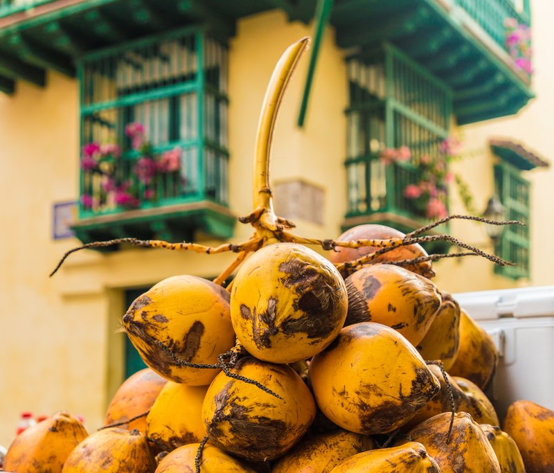 Fresh produce in Cartagena