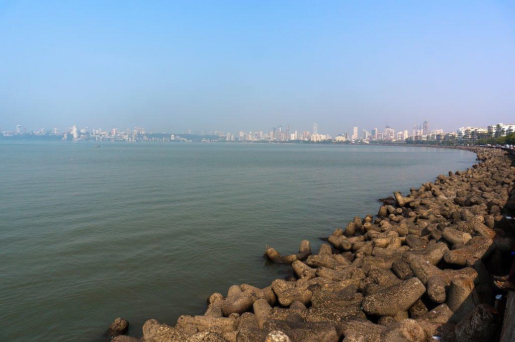 Say goodbye to Mumbai as you begin your onward journey