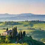 Typical Tuscan Countryside