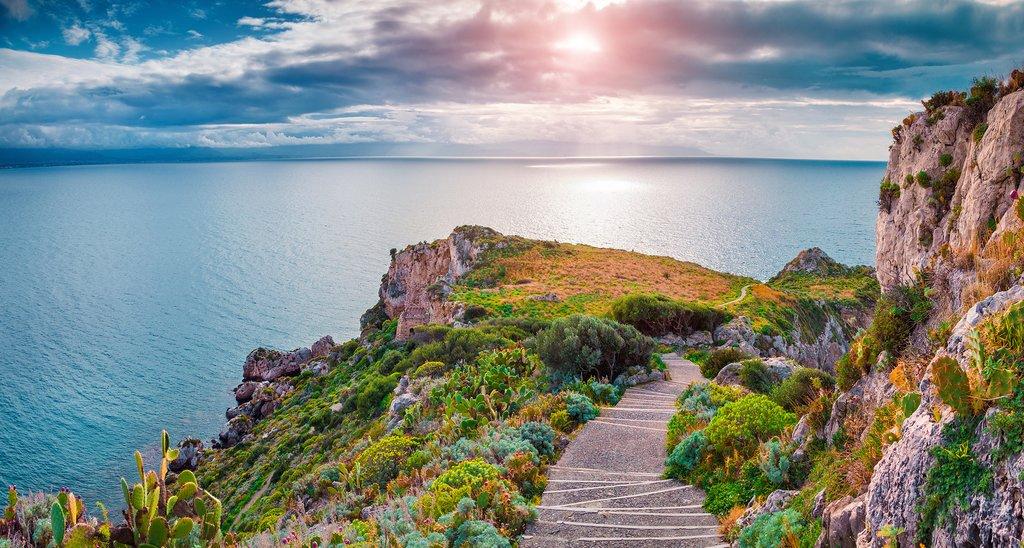 Italy - Sicily - Cape Milazzo - Piscina di Venere