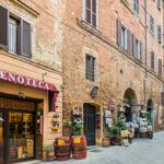 Old homes in Montepulciano