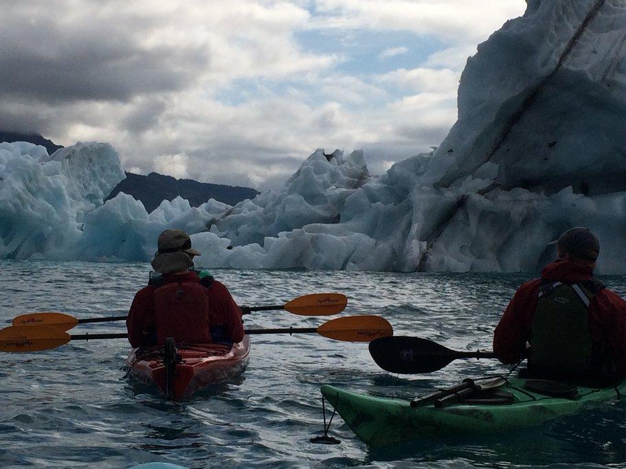 Columbia Glacier kayaking, Alaska
