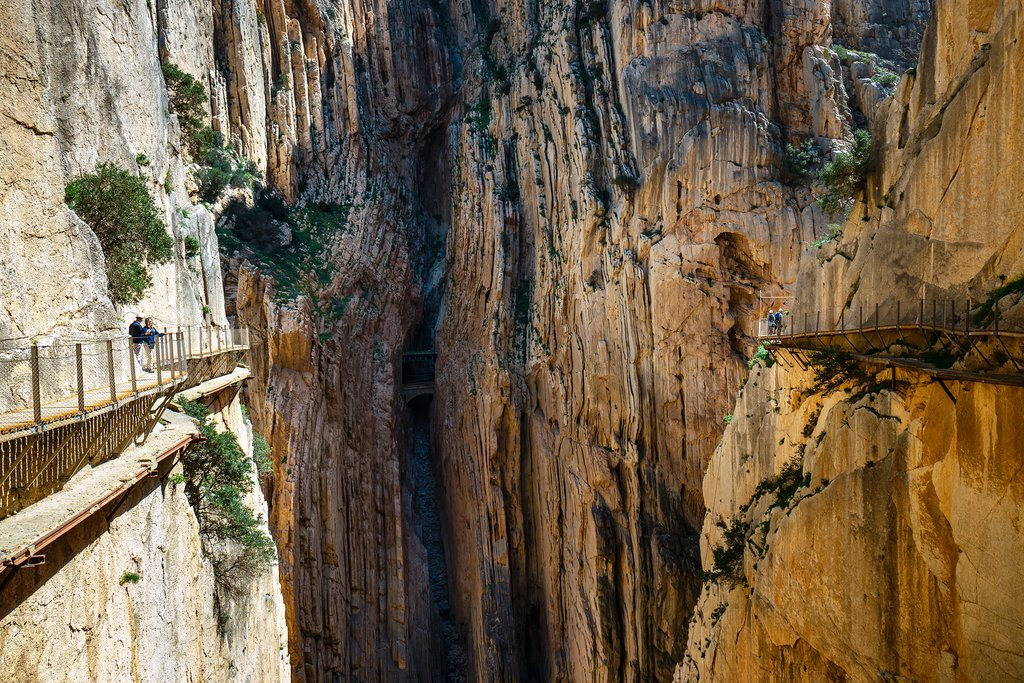 Walk the Trail along Caminito Del Rey