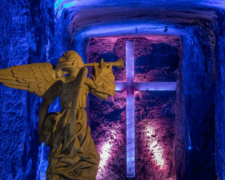 Underground Salt Cathedral in Zipaquirá