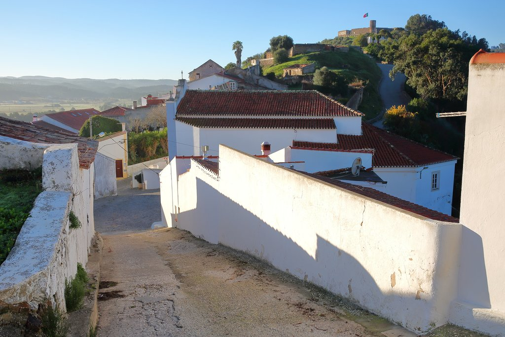 Narrow streets in Aljezur