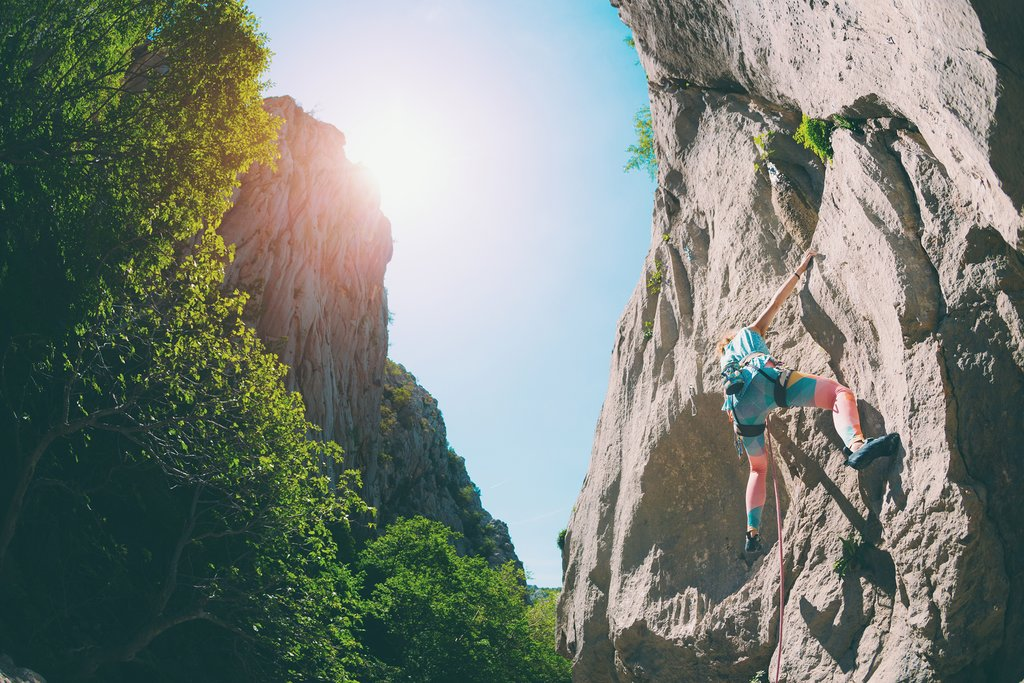 Outdoor activities in Paklenica National Park