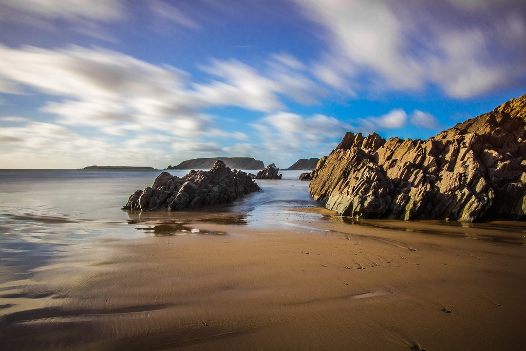 Spend your last day enjoying the beaches on Anglesey Island