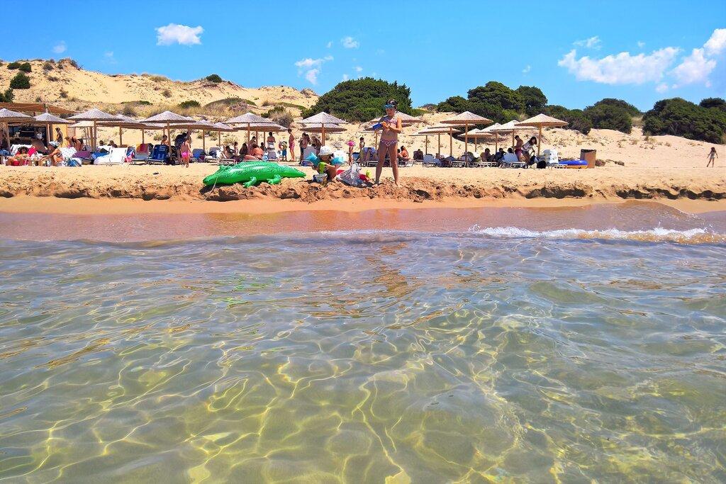 Romanos beach Messenia